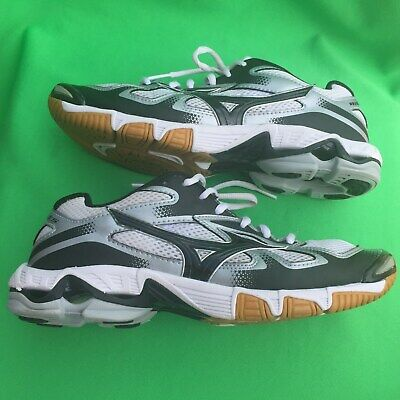 mizuno womens volleyball shoes size 8 x 2 inches vintage orange