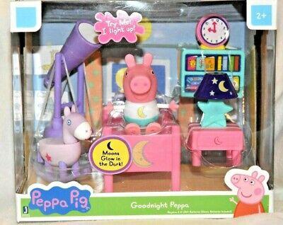 Peppa Pig Little Rooms Movie Night Playset