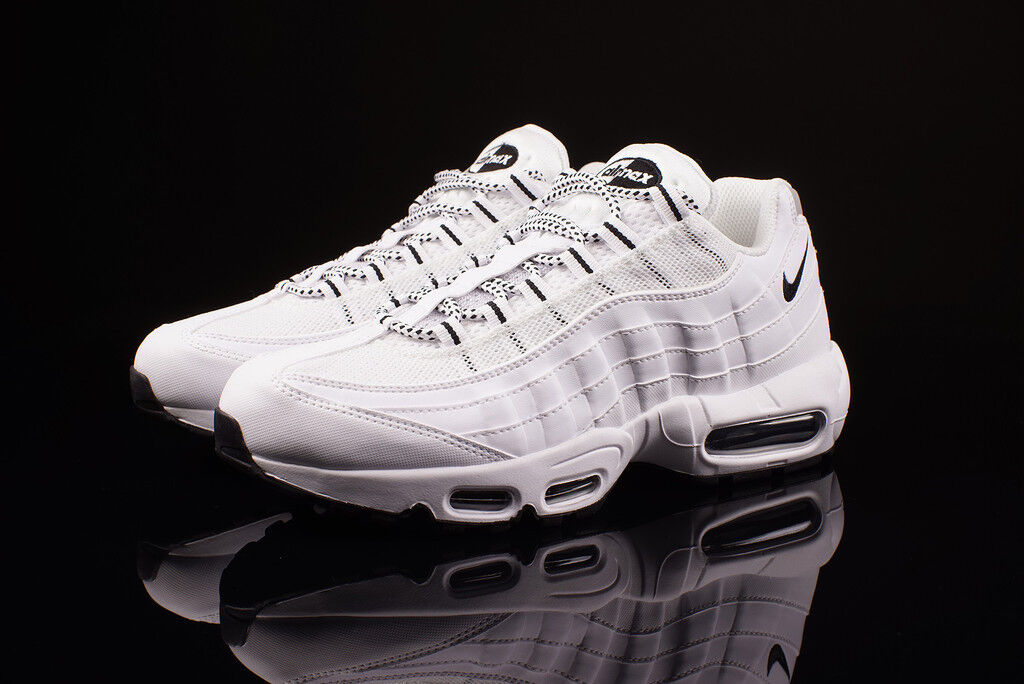 Nike Air Max 95 OG White Black Supreme Retro 10 609148-109 What The