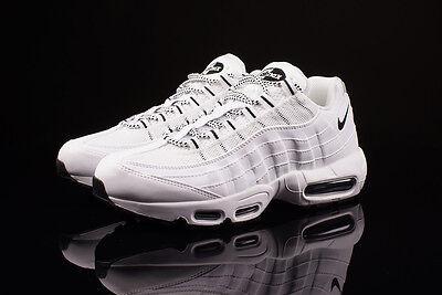 50-70% de descuento nueva precios más bajos pero no vulgar Nike Air Max 95 OG White Black Supreme Retro 11 609148-109 What The | eBay