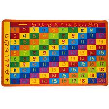 abc addition chart 8 x 11 school classroom large educational kids area rug