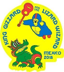 A forma di vinile adesivo 15x13cm MEXICO 2018 RE ventriglio prog rock psichedelico