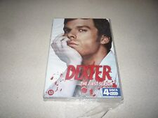 DEXTER : THE FIRST SEASON 4 DISCS DVD BRAND NEW AND SEALED