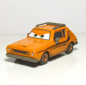 rare disney pixar cars grem orange amc gremlin lemons 1 55 diecast