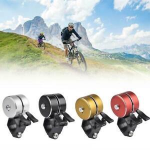 Sicherheit-Radfahren-Laut-Fahrrad-Klingelhorn-Doppelklingel-Alarm-Outdoor-K2K1