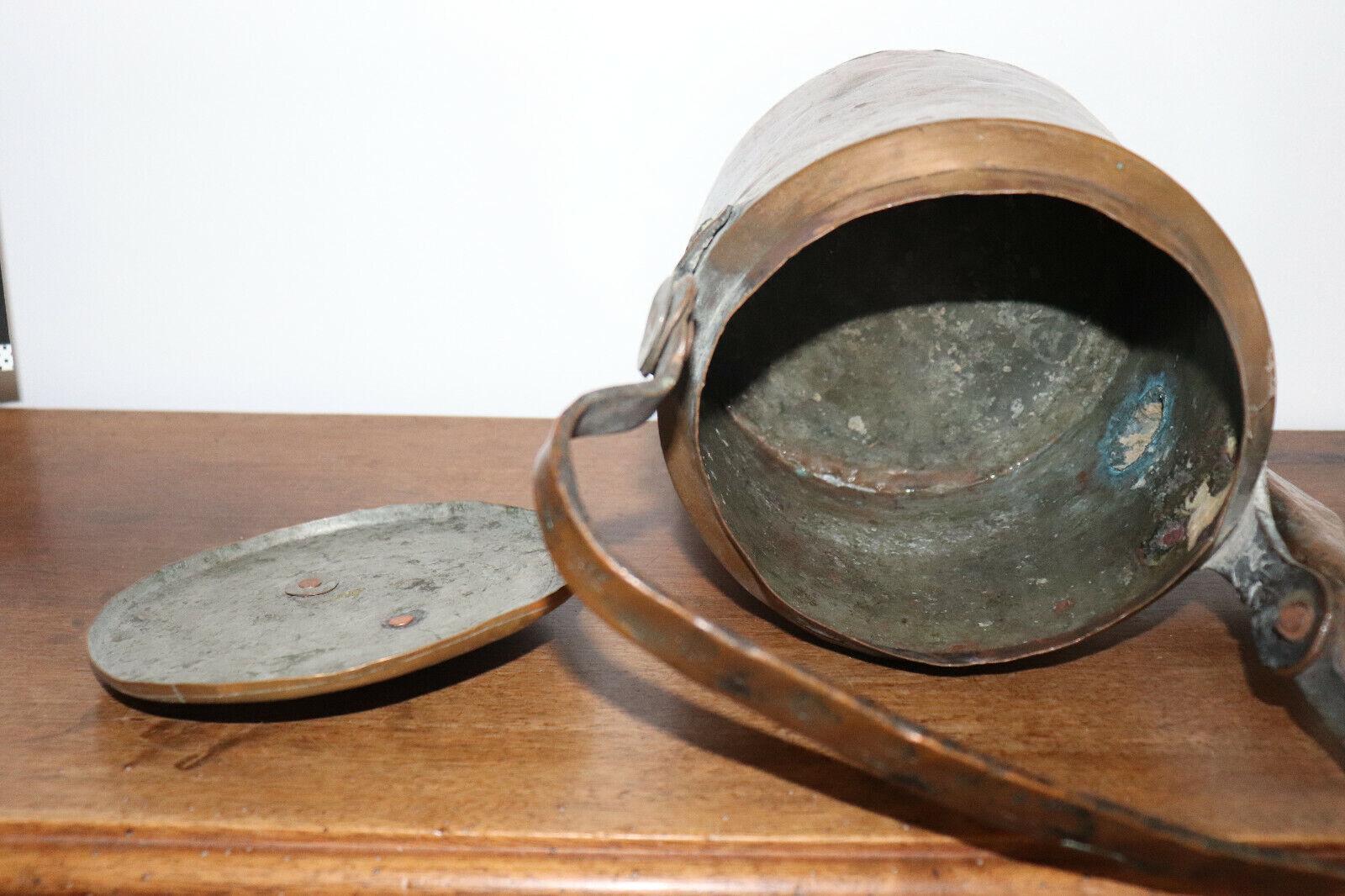 Immagine 3 - Caffettiera-IN-Rame-Ancien-19esimo-Antico-Rame
