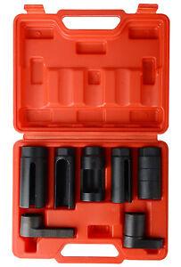 Details about UK 7 PCS Car Oxygen Sensor / Lambda sensor Socket Set Tool  All Sizes 1/2