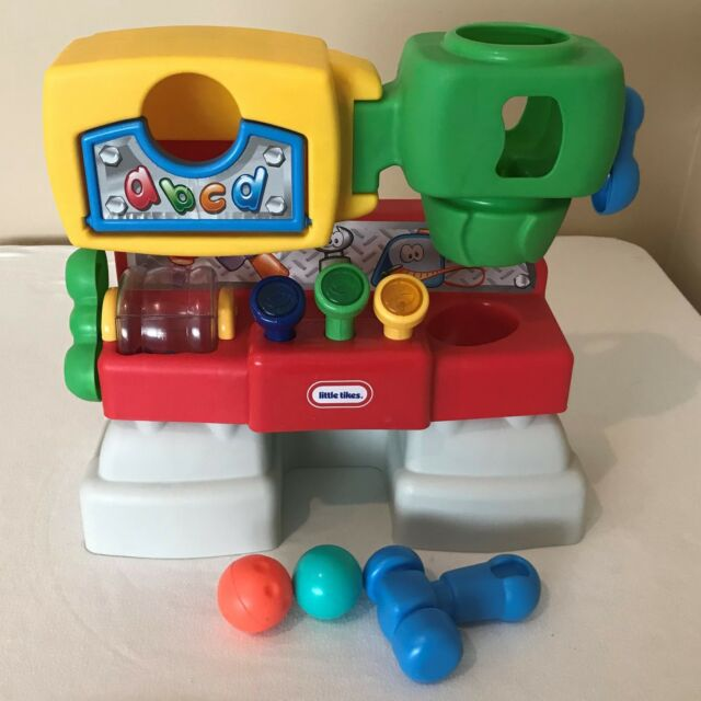 Amazing Little Tikes Work Bench Workshop Discover Sounds Tool 1682 Hammer 1 Ball Cjindustries Chair Design For Home Cjindustriesco