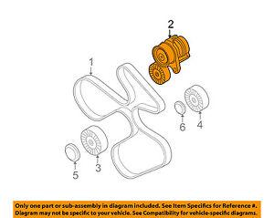 bmw oem 07 13 335i serpentine drive fan belt tensioner 11287563927 07 BMW 335I Interior image is loading bmw oem 07 13 335i serpentine drive fan