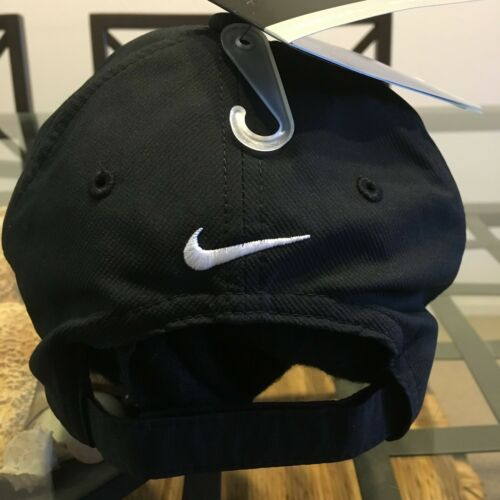 315a4436447 3 of 6 Nike Legacy 91 Dri-Fit Black 1 Size Strapback Baseball Cap Hat Nwt