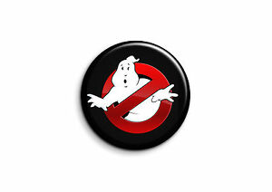 Film Badge 56mm Button Pin Ghostbusters 2