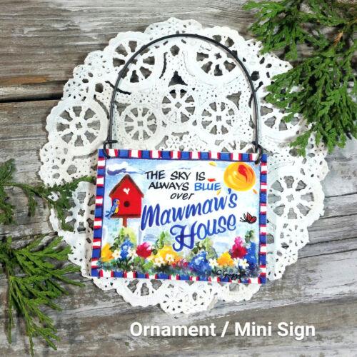 maw maw All Relatives Family Appreciation Gift Ornament Mini Sign Mawmaw