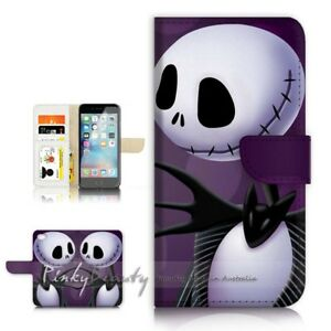 online store 72f31 d043a Details about ( For iPhone 8 Plus ) Wallet Case Cover P21527 Nightmare  Before Christmas