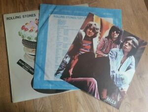 Rolling-Stones-LP-Let-it-bleed-UK-Decca-Stereo-1st-Press-amp-Poster-amp-Choir-cred