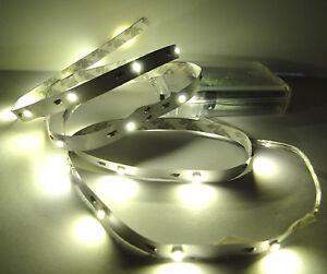 led leuchtstreifen lichterkette 30 leds warmwei batterie streifen strip leiste ebay. Black Bedroom Furniture Sets. Home Design Ideas