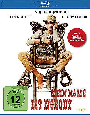 Blu-ray * MEIN NAME IST NOBODY - HENRY FONDA , TERENCE HILL # NEU OVP §
