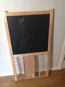 ikea mala blackboard whiteboard easel pick up only due to size ebay. Black Bedroom Furniture Sets. Home Design Ideas