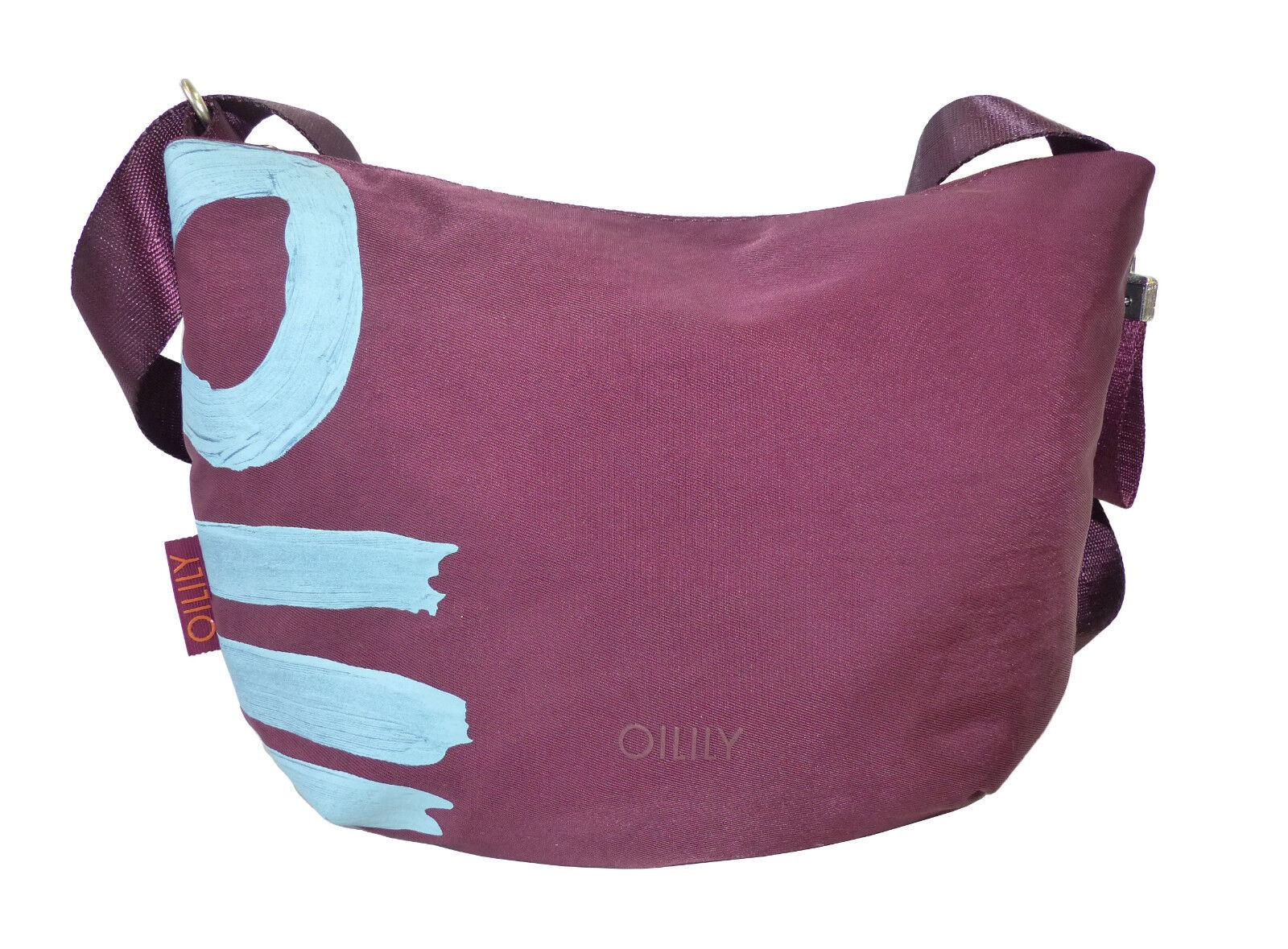 NEU Oilily Tasche Fun Nylon Nylon Nylon SVZ Shoulderbag Damen Schultertasche Umhängetasche    | Innovation  c140ae
