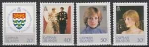 Cayman-Islands-postfris-1982-MNH-Diana-Princes-of-Wales-P179