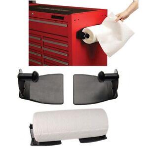 HEAVY-DUTY-MAGNETIC-PAPER-TOWEL-HOLDER-FOR-KITCHEN-GARAGE-WORKSHOP-CLOSET