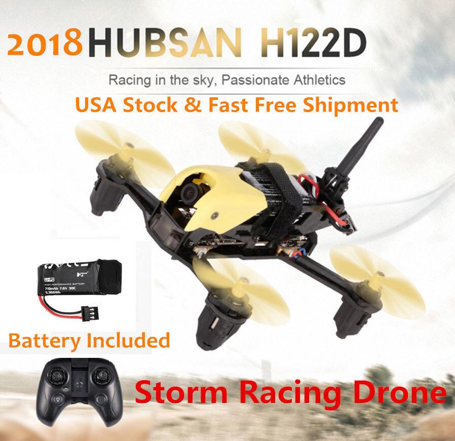2018 hubsan h122d x4 sturm micro racing app fpv - drohne quadcopter 720p - kamera