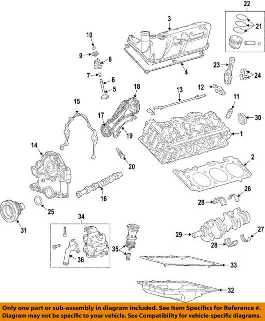 land rover oem 05 07 lr3 engine crankshaft seal 4719898 ebay rh ebay com
