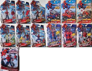 03b Spider-man L'araignée Spiderman Hasbro Marvel Action-personnage Choisir:-afficher Le Titre D'origine