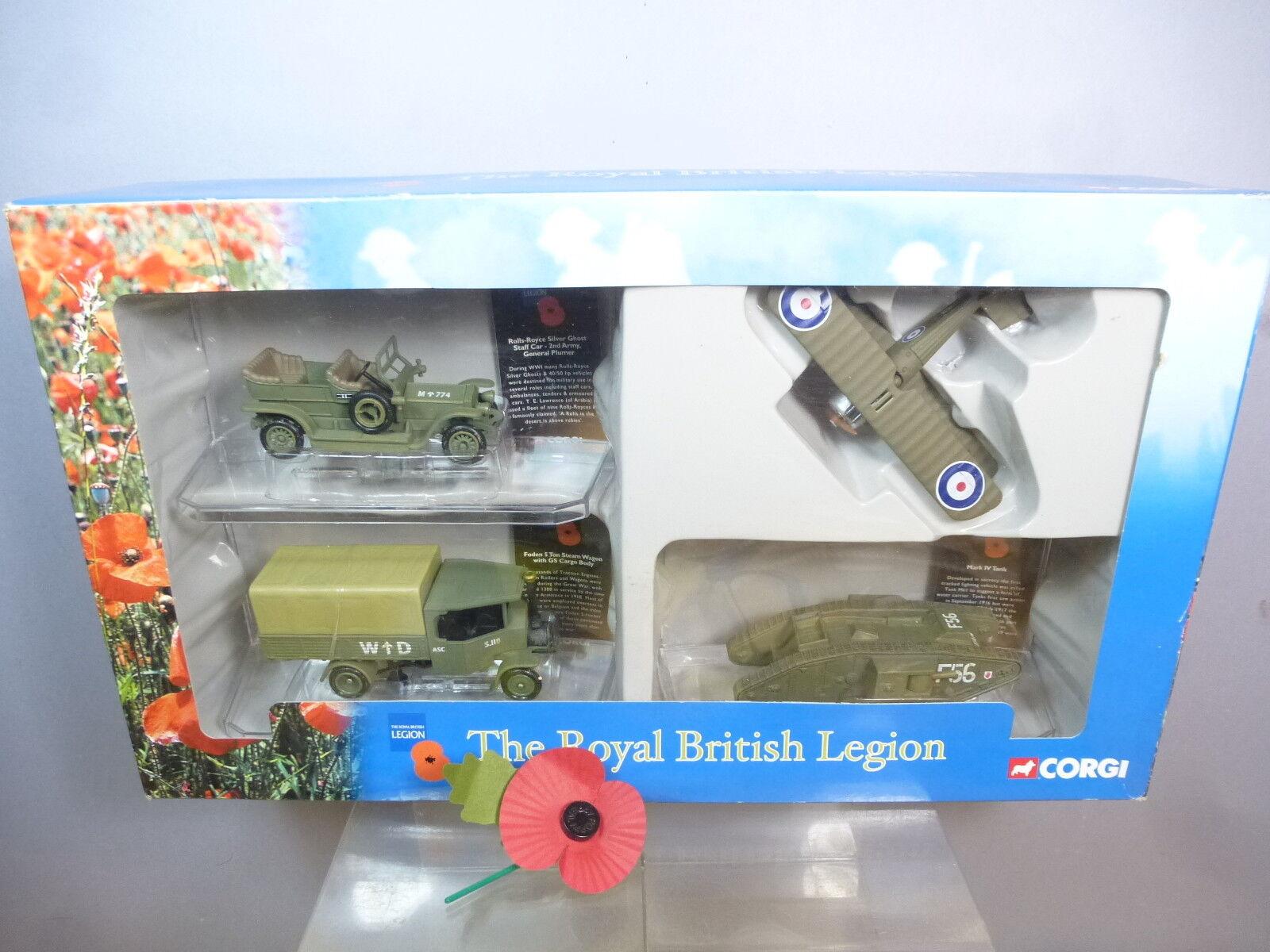 CORGI  WORLD WAR I MODEL No.CSVR 01004  ROYAL BRITISH LEGION  COMMEMORATIVE  MIB
