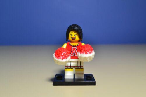 8833 Red Cheerleader LEGO MINIFIGURES SERIES 8