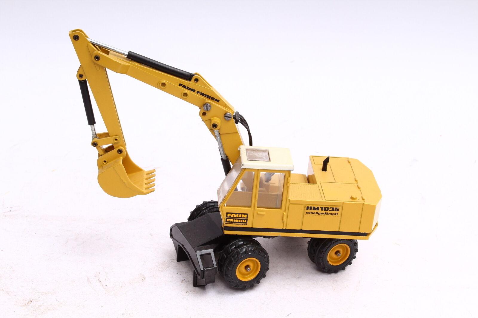 NZG 174 Faun Frisch HM 1035 Schallgedämpft Mobilbagger 1 50