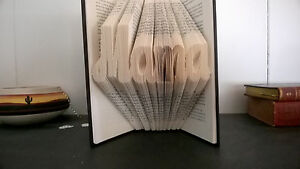 Mama Folded Book Art Christmas Gift Mom Mommy Gift from son Gift From daughter
