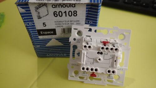 Permutateur interrupteur va et vient A l/'UNITE Arnould ESPACE 60108