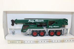 KK-SIKU-3730-Camion-Grua-AUG-alborn-Movil-LIEBHERR-1-55-NUEVO-EN-emb-orig