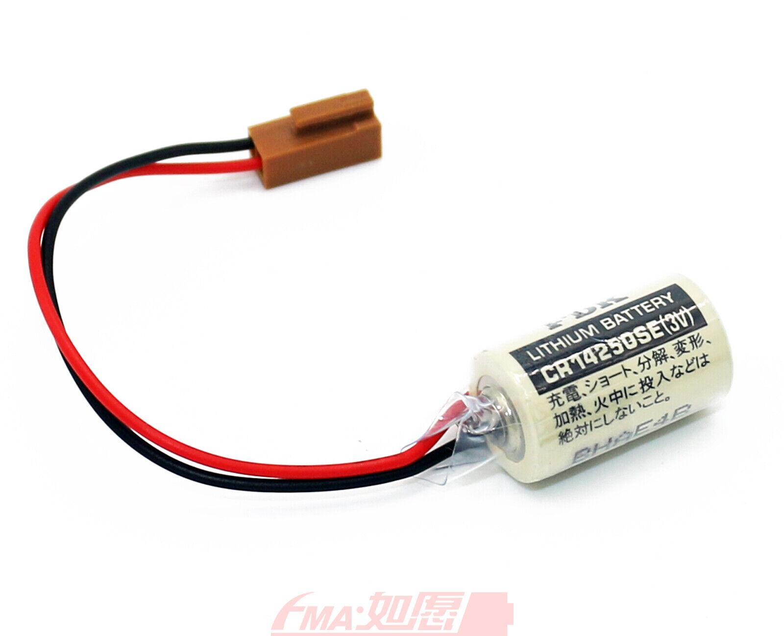 FDK Lithium 3V Batterie CR 14250SE-FT1 1//2AA Rastermaß 7,5 Zelle 2//1 pin +//