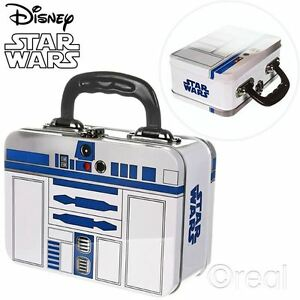 New-Star-Wars-R2-D2-Tin-Tote-Lunch-Box-School-Metal-Official-Licensed
