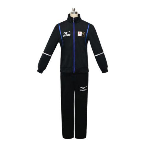 Yuri on Ice Katsuki Yuuri Sportswear Jacket Coat Suits Outfit Cosplay Costume