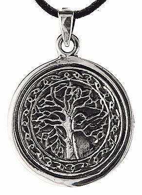 83 Lebensbaum 925 Silber Anhänger Kette Yggdrasil Weltesche Baum des Lebens Nr