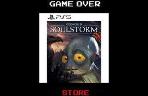 Oddworld Soulstorm Ps5 Playstation 5 Nuovo ITA Videogame Steelbox Day One Ed.