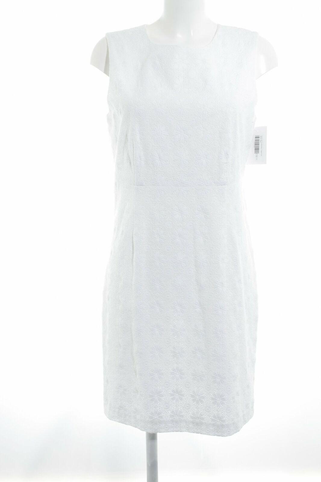 Diane Von Furstenberg abito spalline    Betty  Bianco Donna Tg. de 38 Bianco Abito Dress 0cac96
