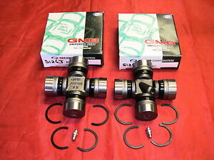 LANDCRUISER-HZJ75-PAIR-OF-2-REAR-JAPANESE-MADE-GREASABLE-UNIVERSAL-UNI-JOINTS