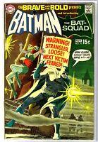 BRAVE and the BOLD #92 Batman & The Bat-Squad! DC Comic Book ~ VG/FN