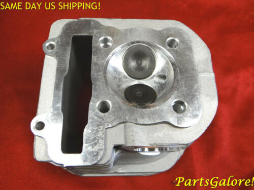 """Tall 73mm Scooter ATV Buggy Trike Cylinder Head 125cc 150cc  /""""QJ/"""" Quingiang"""