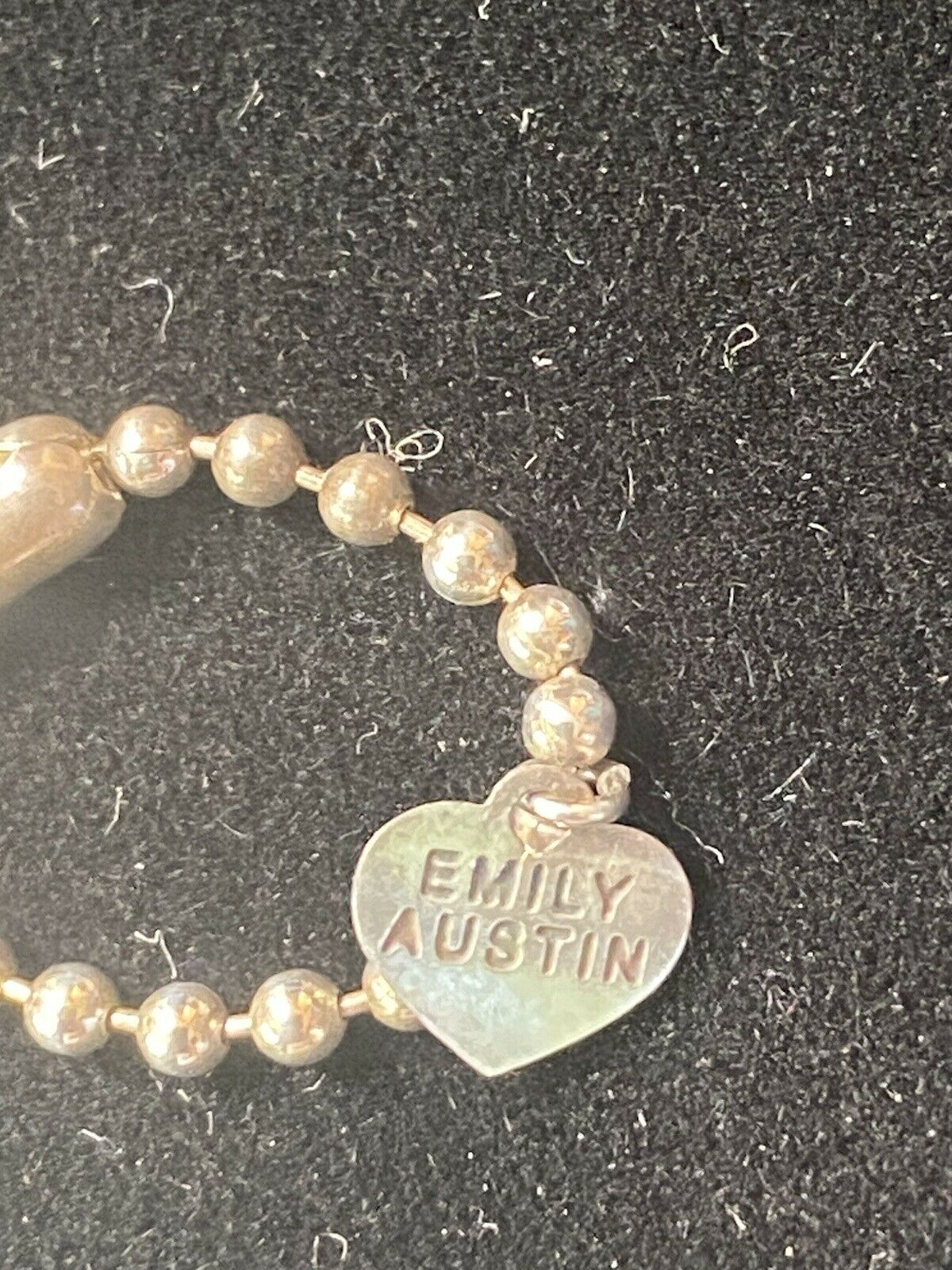 "EMILY AUSTIN 16"" Sterling Silver Swarovski Crysta… - image 6"