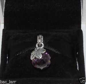 26fe430c3 Image is loading AUTHENTIC-PANDORA-CHARM-034-Morning-butterfly-purple-amp-