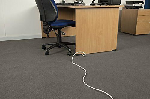 Chargeline® Heavy Duty Black Cable Protector// Floor Cable Cover Tidy 50cm-9m