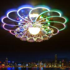 5W LED Ceiling Light Colorful Modern Crystal Living Room Porch Lighting Lamp