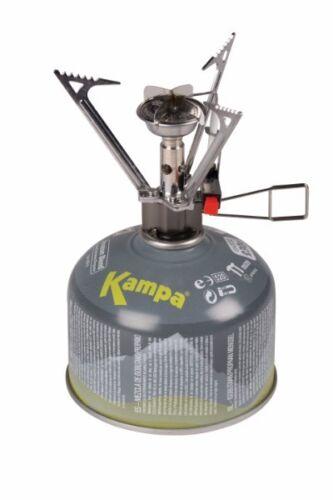 Kampa 4kw Jet-Flame Portable Single Gas Camping Fishing Stove GA7142