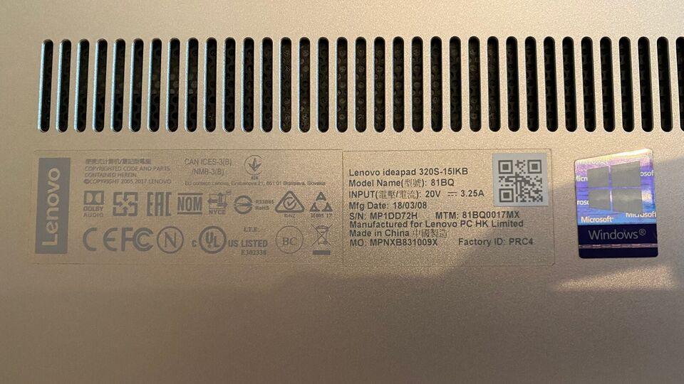 Lenovo MPNXB831009X, i5 1,6 GHz GHz, 8 GB GB ram