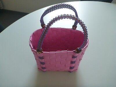 Original Diezijn Tasche, original aus Holland, Kinder Tasche, pink lila, Rarität