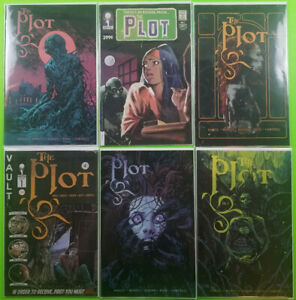 THE-PLOT-1-A-B-C-2nd-Print-2-3-First-Print-U-Pick-Vault-Comics